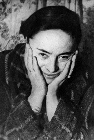 советская поэтесса Людмила Давидович