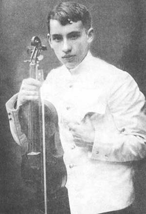 Исаак Дунаевский. 14 лет