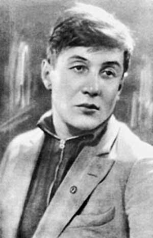 советский поэт Борис Корнилов