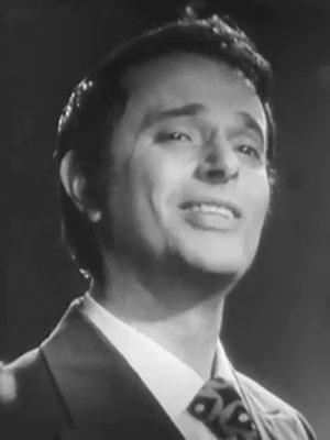 певец Владимир Матусов