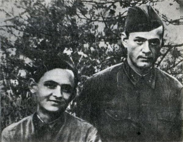 советские музыканты Лев Шенберг и Павел Краубнер