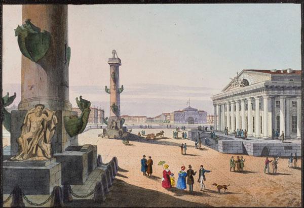 Карл Петрович Беггров (1799—1875). Ростральные колонны в XIX веке