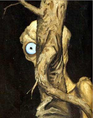 советский художник Коржев. Тюрлик с деревом