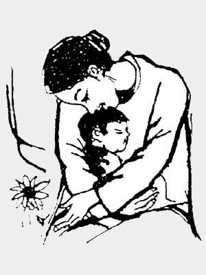 Рисунок «Поговори со мною, мама»